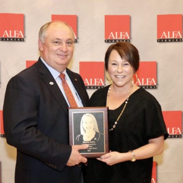 Roby honored with service to agriculture award