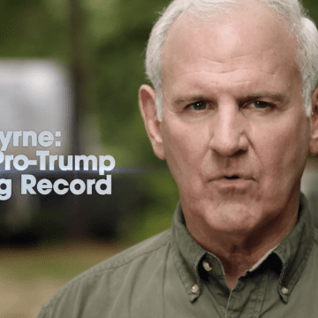 New Byrne ad highlights Trump support, Alabama roots