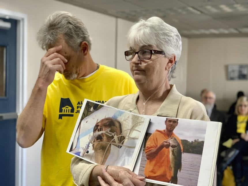 Families of inmates describe violent conditions to panel
