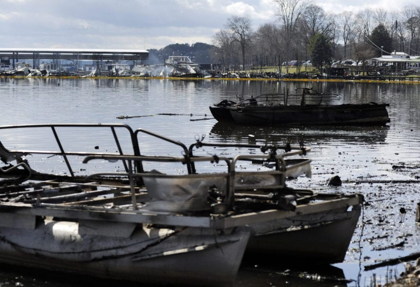 Fire chief: At least 8 died in marina boat dock fire