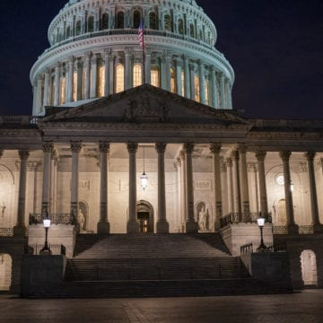 House easily passes stopgap funding bill, averting shutdown