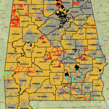 New map illustrates state's rural broadband issue