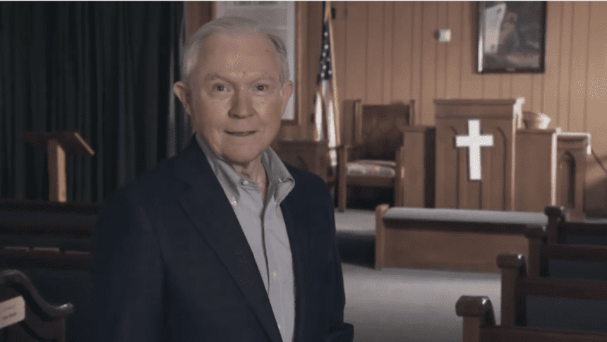 Sessions touts record defending religious liberty in new TV ad