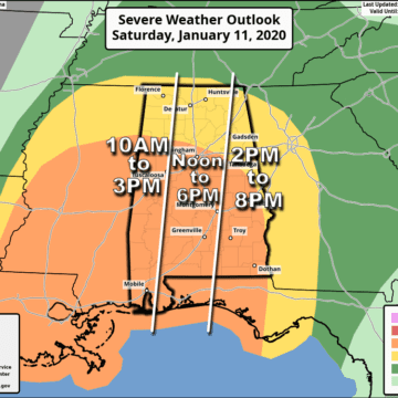 Wicked weekend weather threatens several Southern states