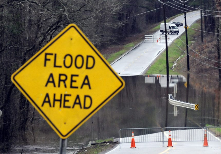 Torrential rains leave swollen rivers, downed trees in South