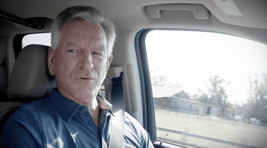Tuberville in new ad: 'God sent us Donald Trump'