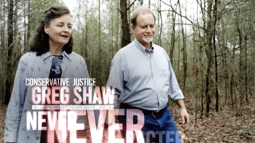 Greg Shaw ad touts conservative credentials