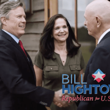 Hightower ad highlights congressional candidate's faith
