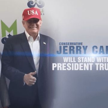 Carl says he's 'tough' in new congressional race ad