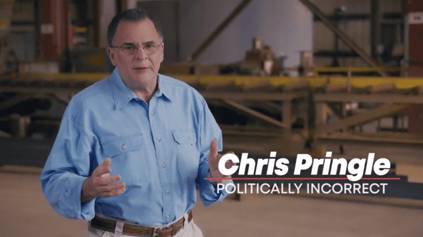 Pringle defends conservatives in 'Your Fault' ad