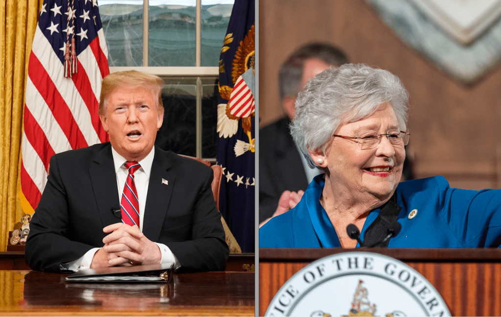Ivey, Trump have high approval in new Alabama poll | Alabama Daily News