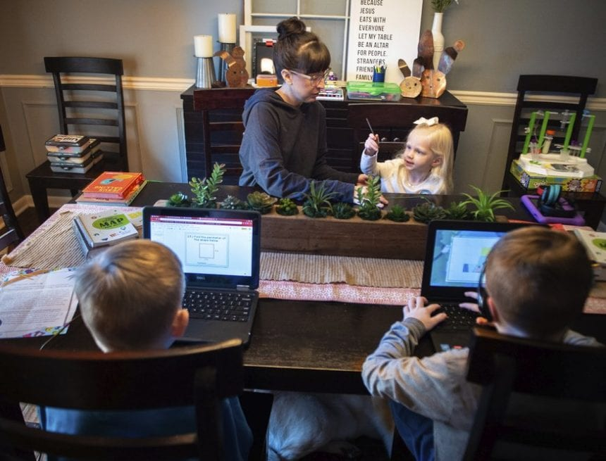 In response to COVID-19, K-12 system spending $12.4 million on statewide virtual option