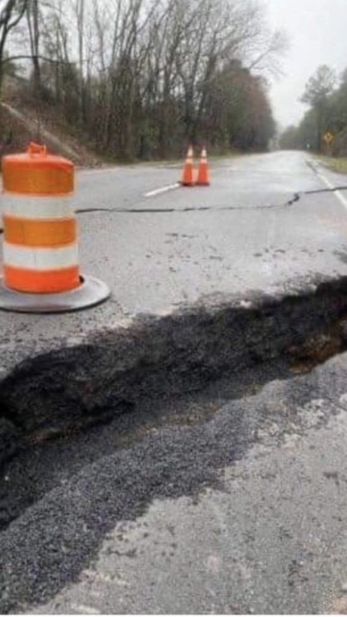 State may relocate damaged highway in north Alabama