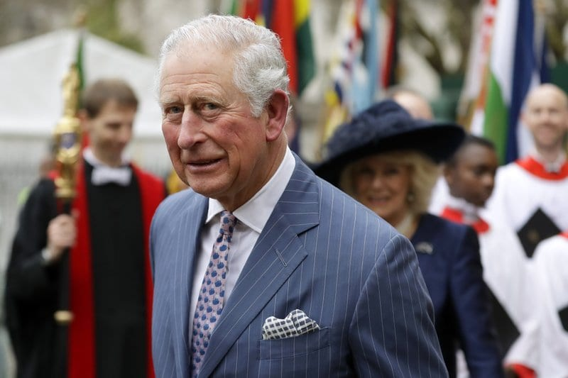 Britain's Prince Charles tests positive for new coronavirus