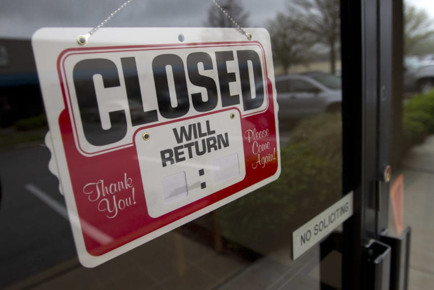 Some businesses struggle with when to restart commerce