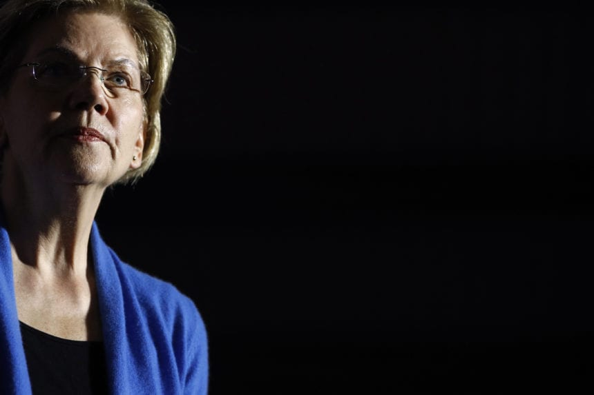 Warren ends presidential campaign, centering race on 2 men