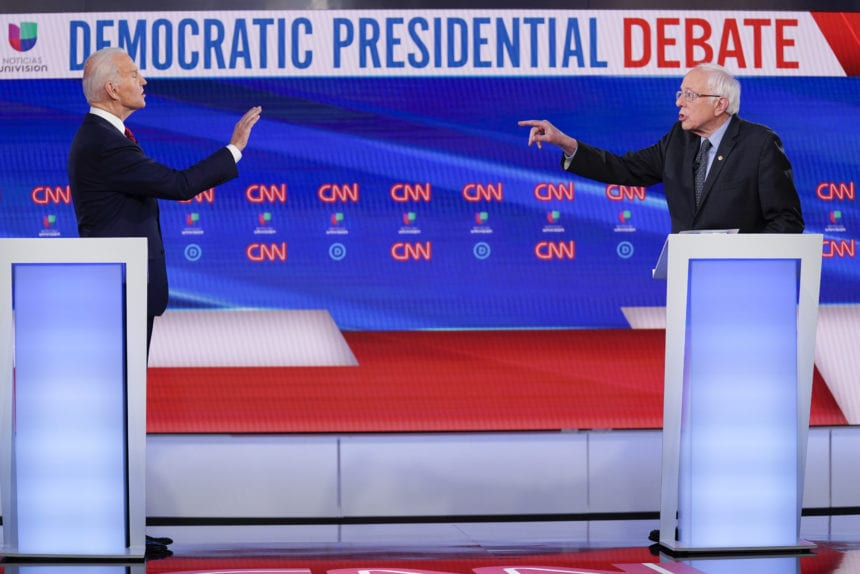 'Bigger than any one of us': Biden, Sanders tackle pandemic