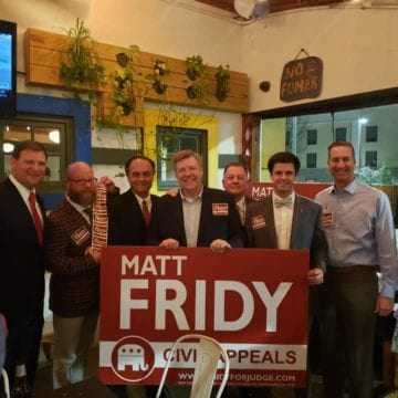 Fridy, Windom win appellate court races; Kellum and Smith head to runoff