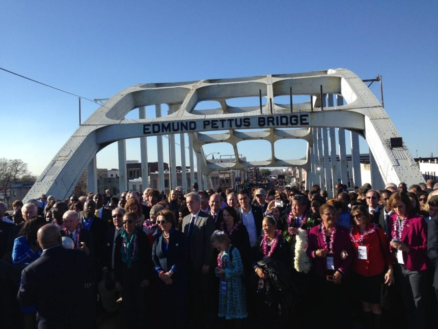 Democrats gather for 'Bloody Sunday' commemoration in Selma