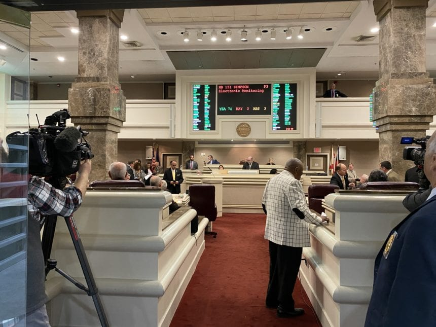 Inmate work release monitoring bill passes House