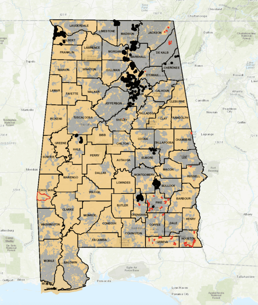Crisis highlights digital divide in Alabama