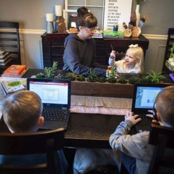 In a pinch, company helped state switch to online learning
