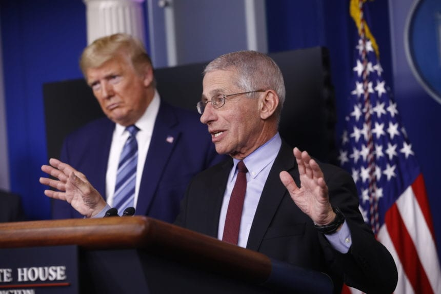 Fauci says 'rolling reentry' of US economy possible in May