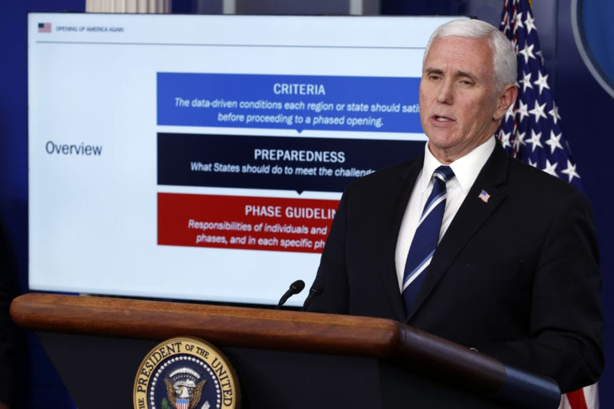Pence spends weekend at home after exposure to infected aide