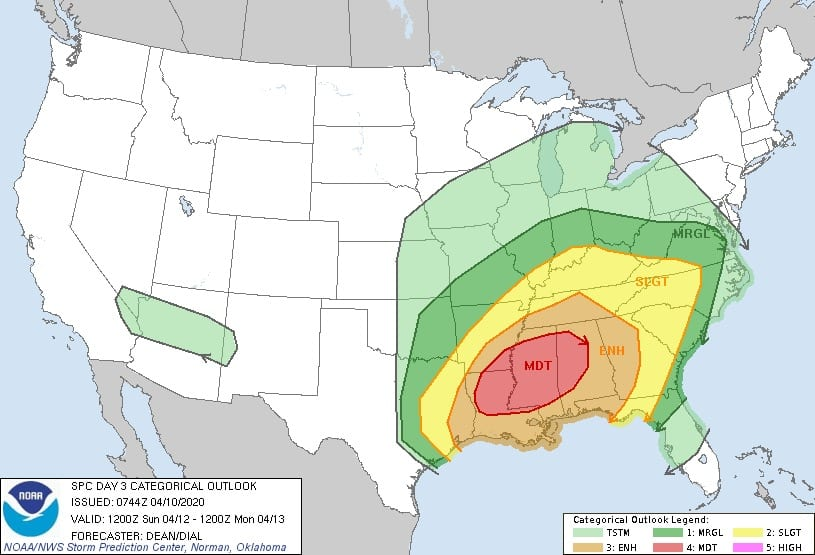 James Spann: Significant severe weather threat for Alabama Sunday