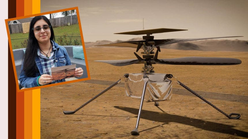 Alabama student names NASA's first Mars helicopter
