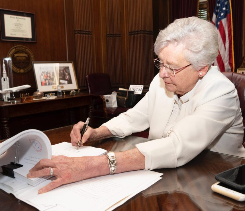 Ivey signs state budgets into law