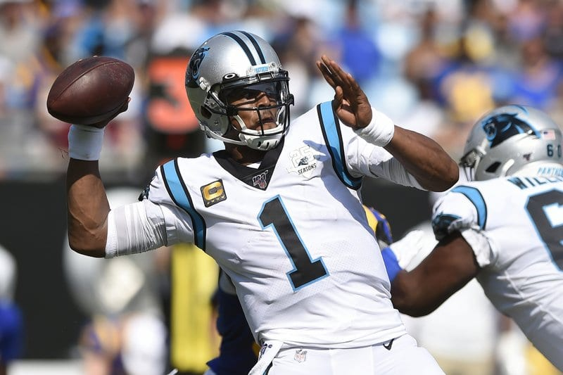 Source: Patriots sign Cam Newton to replace Tom Brady