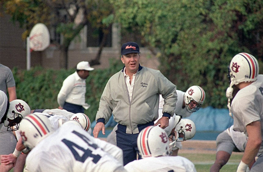Former Auburn football coach Pat Dye dies at 80