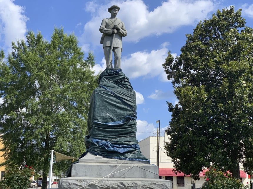 Majority-black county seeks to move Confederate monument