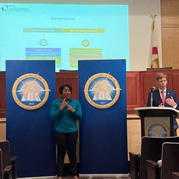 Road-map to reopening schools announced; Mackey stresses importance of distance learning
