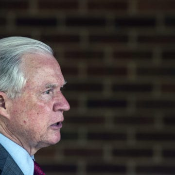 Sessions vies for Senate comeback in race shadowed by Trump