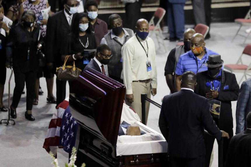 Civil rights icon John Lewis remembered in his hometown