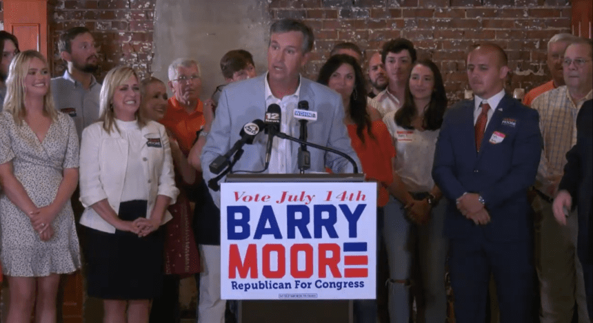 Barry Moore dominates GOP runoff in 2nd District