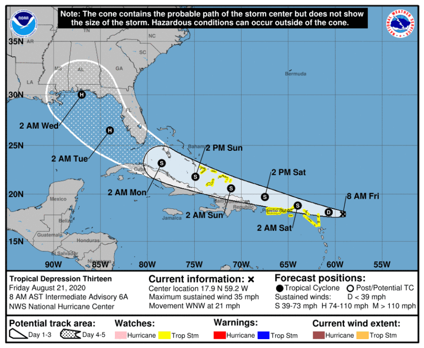 2 Caribbean storms pose potential hurricane threats to US