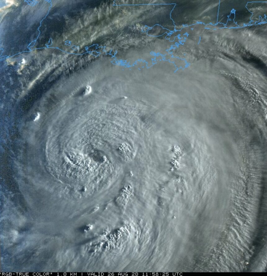 Laura now forecast to be a catastrophic Category 4 hurricane