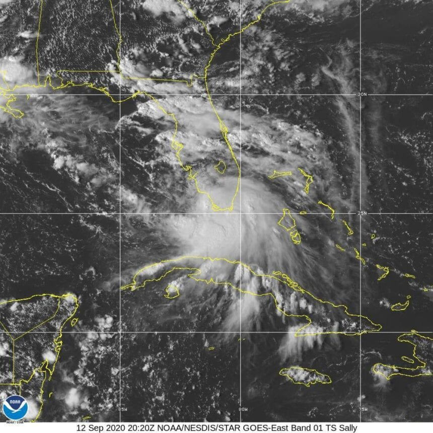 Paulette rolls toward Bermuda; Sally threatens Gulf Coast