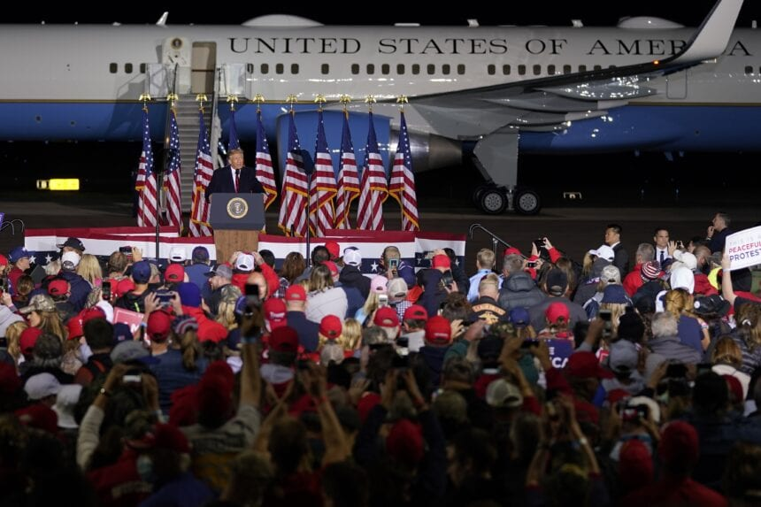 Trump pivots to culture appeal in Wisconsin