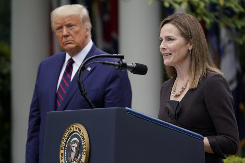 Trump caps judiciary remake with choice of Barrett for court