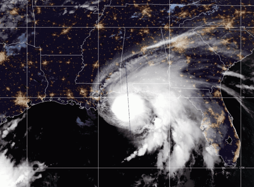 Hurricane Sally slows, gathering a deluge for the Gulf Coast