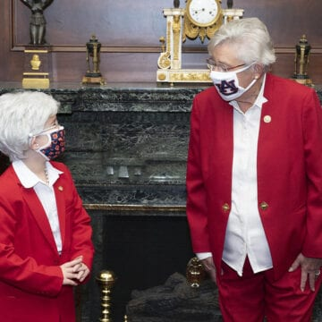 'Little Kay Ivey' meets the governor