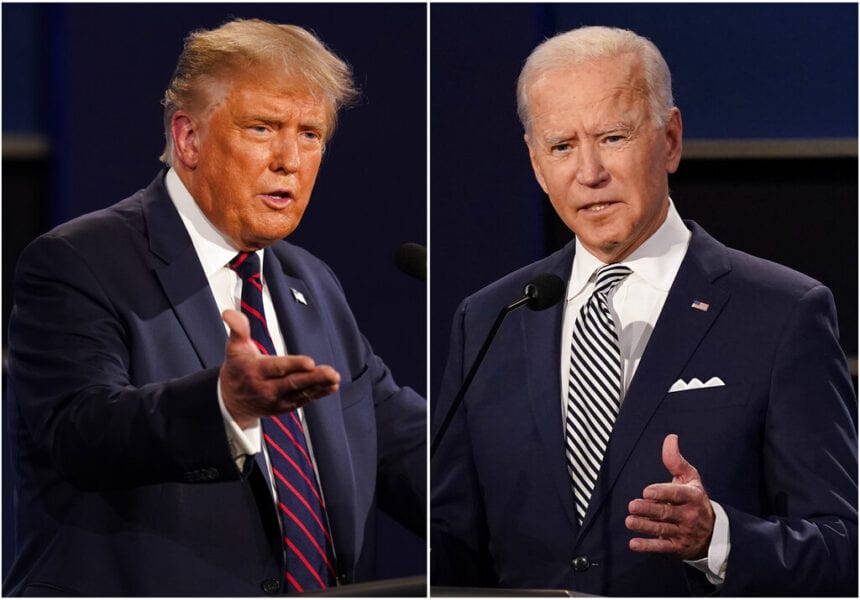 Trump or Biden? Big turnout, few hiccups as voters choose