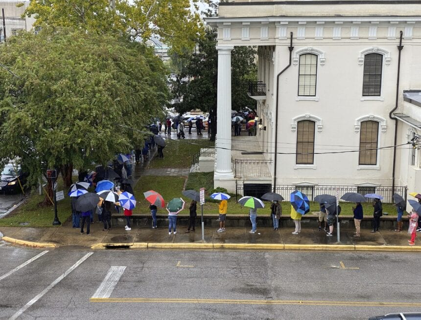 Absentee voting hits record level in Alabama