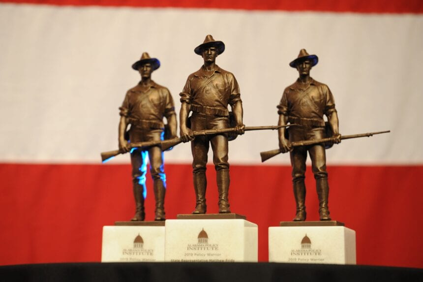 Alabama Policy Institute announces 2020 Policy Warrior awards