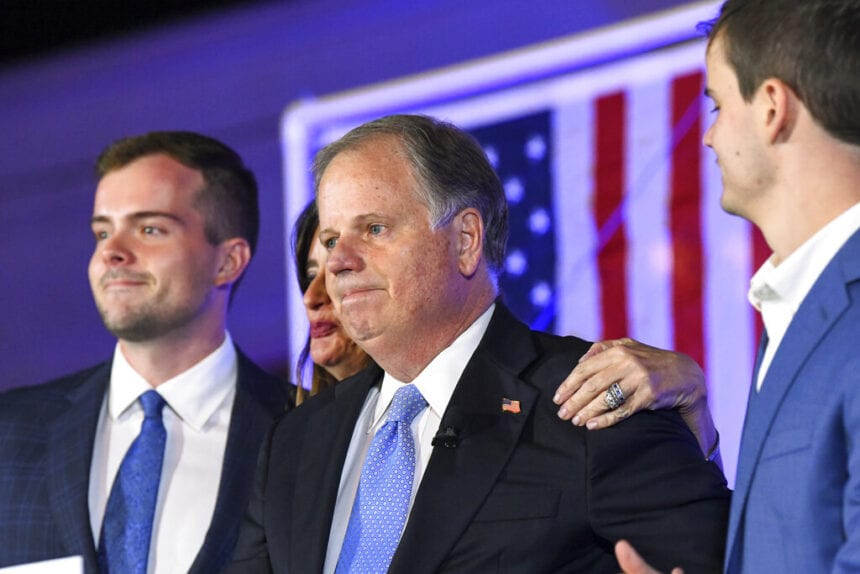 Record Democratic turnout not enough for Jones in Alabama