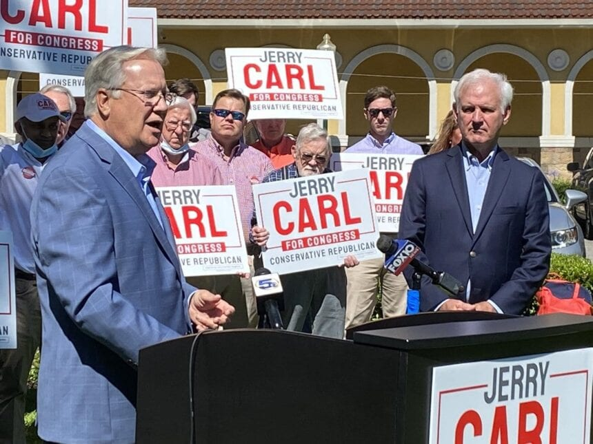 Jerry Carl wins in 1st Congressional District